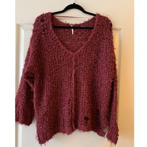 """Free People """"Up the ladder"""" Sweater"""